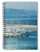 Lyme Regis Under Glass Spiral Notebook