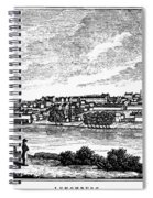 Lynchburg, Virginia, 1856 Spiral Notebook