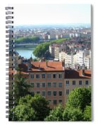 Lyon From Above Spiral Notebook