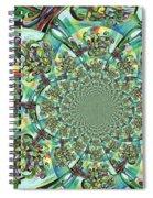 Lyrical Tree Mandela Spiral Notebook