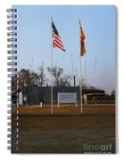 Lz Oasis 3d Brigade None Better Headquarters 4th Infantry Division Vietnam  1969 Spiral Notebook