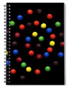 M And M 3 Spiral Notebook