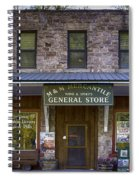 M And M Mercantile Spiral Notebook