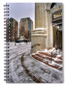 M And T Bank Downtown Buffalo Ny 2014 Spiral Notebook
