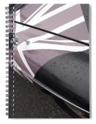 M G B Graphic Spiral Notebook