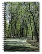 M119 Tunnel Of Trees Michigan Spiral Notebook