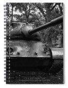 M47 Patton Tank Spiral Notebook