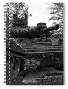 M551a1 Sheridan Tank Spiral Notebook
