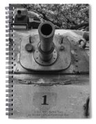 M60 Patton Tank Turret Spiral Notebook