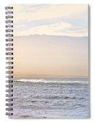 Maalaea Morning Surf Spiral Notebook
