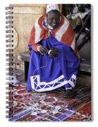 Maasai Woman Spiral Notebook