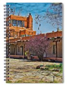 Mabel Dodge Luhan's Courtyard Spiral Notebook