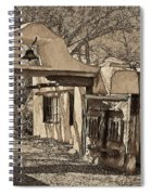Mabel's Gate - A Different View Spiral Notebook