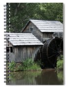 Mabry Mill - Blue Ridge Mountains Spiral Notebook