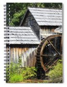 Mabry Mill Close Up Spiral Notebook