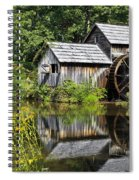 Mabry Mill In Virginia Spiral Notebook