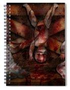 Macabre - Dolls - Having A Friend For Dinner Spiral Notebook