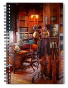 Macabre - In The Headhunters Study Spiral Notebook