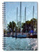 Macatawa Masts Spiral Notebook