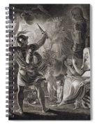 Macbeth, The Three Witches And Hecate Spiral Notebook