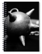 Mace  Medieval Weapon Spiral Notebook