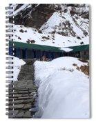 Machhapuchchhre Base Camp, Nepal  Spiral Notebook