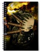 Machine Thoughts Spiral Notebook