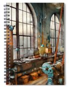 Machinist - Back In The Days Of Yesterday Spiral Notebook