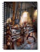 Machinist - Fire Department Lathe Spiral Notebook