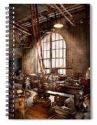 Machinist - I Like Big Tools Spiral Notebook