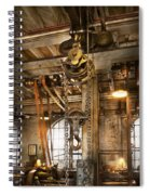 Machinist - In The Age Of Industry Spiral Notebook