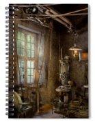 Machinist - Industrial Revolution Spiral Notebook