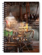 Machinist - It All Starts With A Journeyman  Spiral Notebook