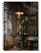 Machinist - Where Inventions Are Born Spiral Notebook
