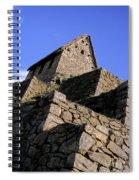 Machu Picchu Hut Peru Spiral Notebook