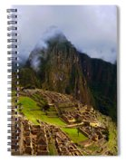 Machu Picchu Overlook Spiral Notebook