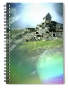 Machu Picchu Reflection Spiral Notebook