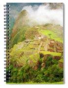 Machu Picchu Textured 2 Spiral Notebook