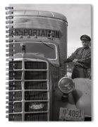 Mack Truck  1943 Spiral Notebook