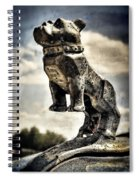 Mack Truck Hood Ornament  Spiral Notebook