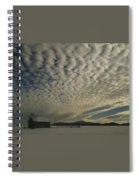 Mackerel Sky Spiral Notebook