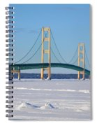 Mackinac In March Spiral Notebook