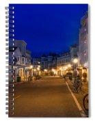 Mackinac Island Midnight Spiral Notebook