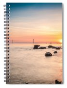 Mackinac Sunrise Spiral Notebook