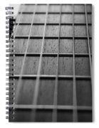 Macro Guitar Strings Spiral Notebook