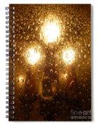 Macro Lights Spiral Notebook