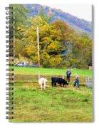 Mac's Farm In Balsam Grove 2 Spiral Notebook
