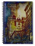 Macys Three - Neo-grundge - Famous Buildings And Landmarks Of New York City Spiral Notebook