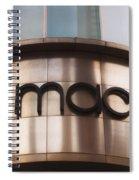 Macys Signage Spiral Notebook