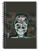 Mad Cow Spiral Notebook